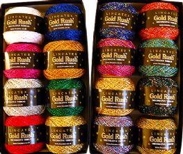 Lincatex Chainette 3ply Lurex Craft Yarn